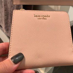 Pale pink Kate Spade wallet